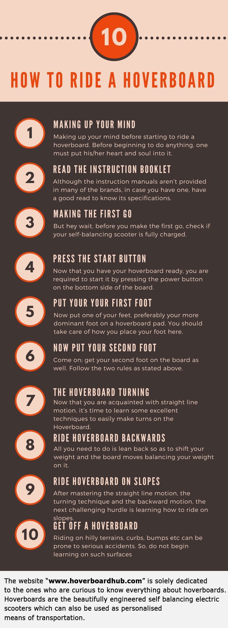 Hoverboarding Tips